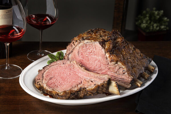 Standing Rib Roast Cooked
